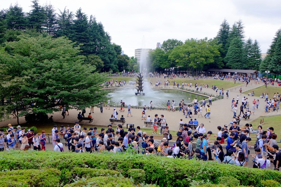 ポケモンGO 世田谷公園 1