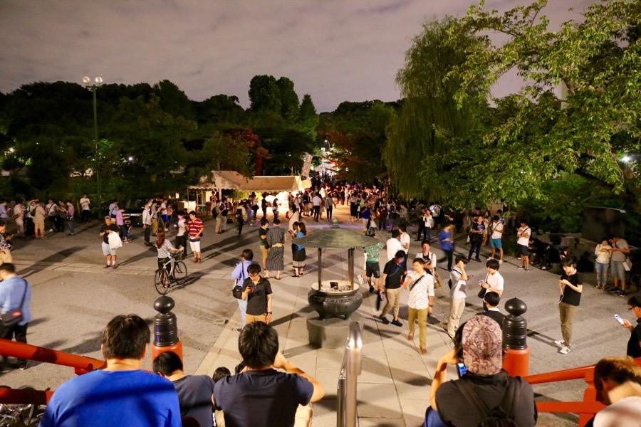 ポケモンGO 上野公園 2