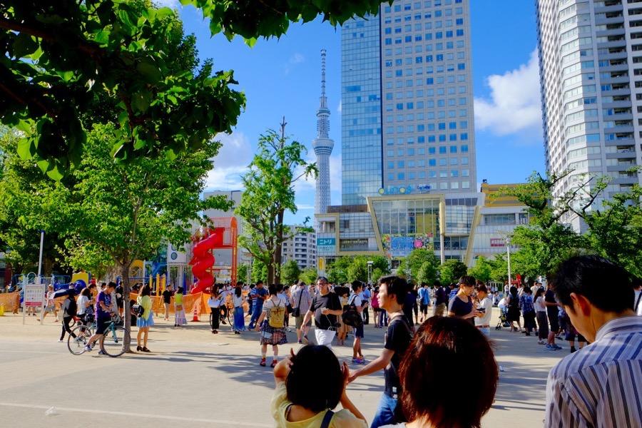ポケモンGO 錦糸公園 1