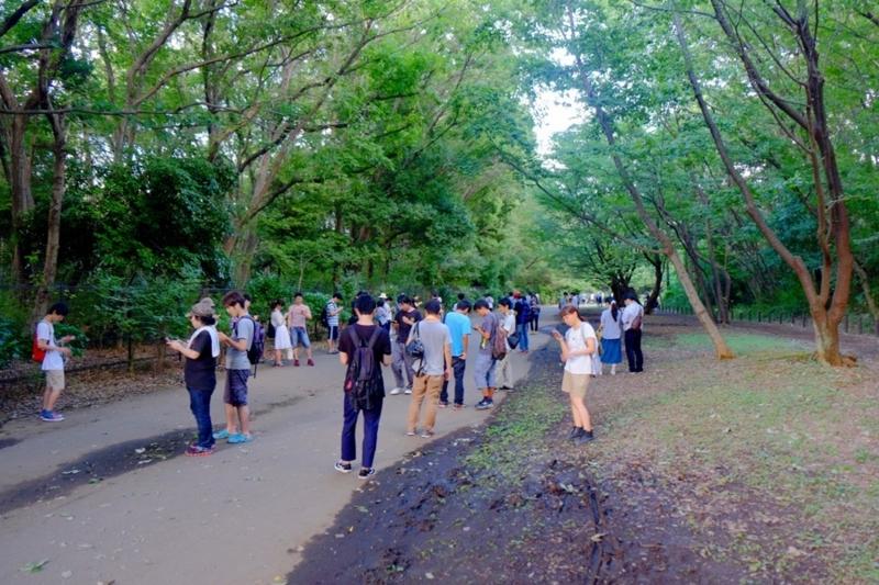 ポケモンGO 小山内裏公園 2