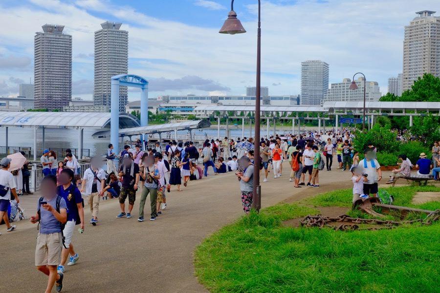 ポケモンGO お台場海浜公園 1