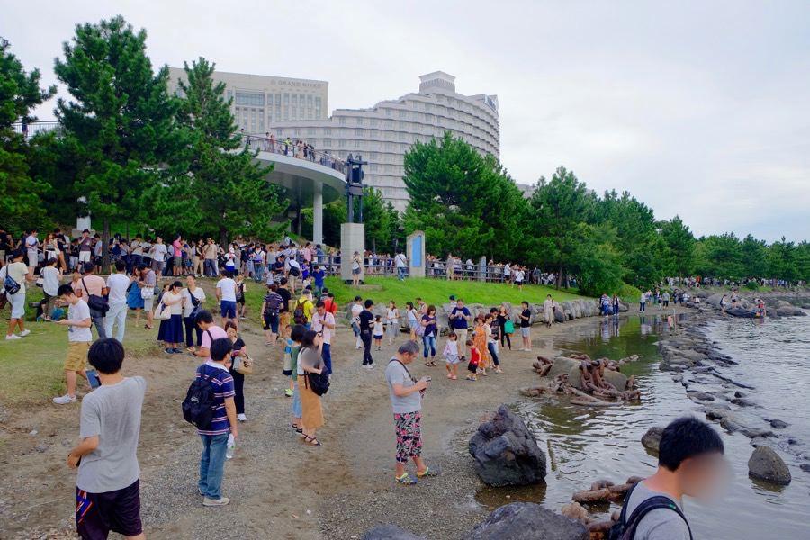 ポケモンGO お台場海浜公園 2