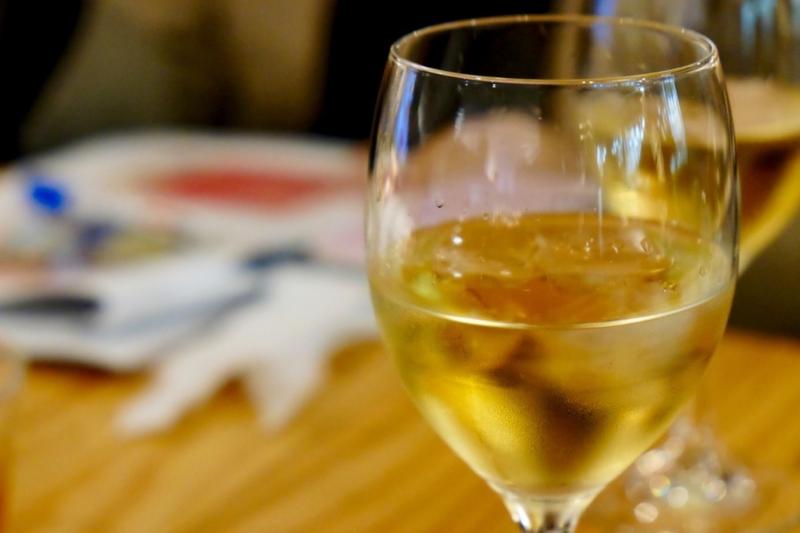 梅酒 ワイングラス