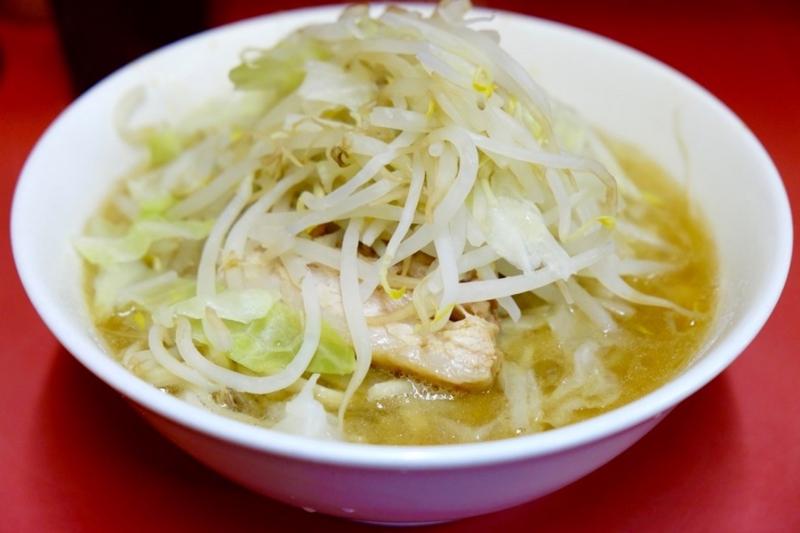 ラーメン二郎 麺少なめ 野菜少なめ