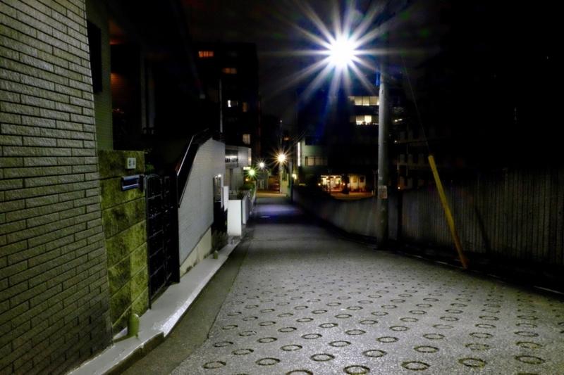 夜の住宅街1