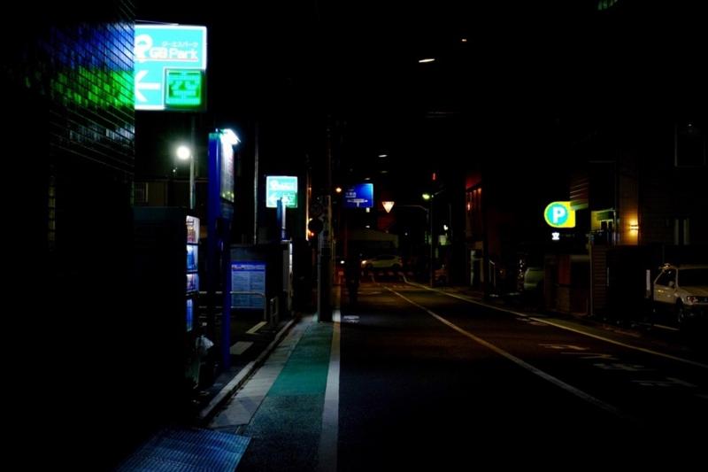夜の住宅街2