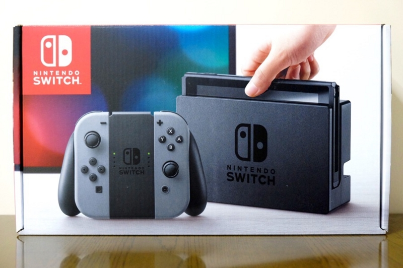 Nintendo Switch 開封の儀1