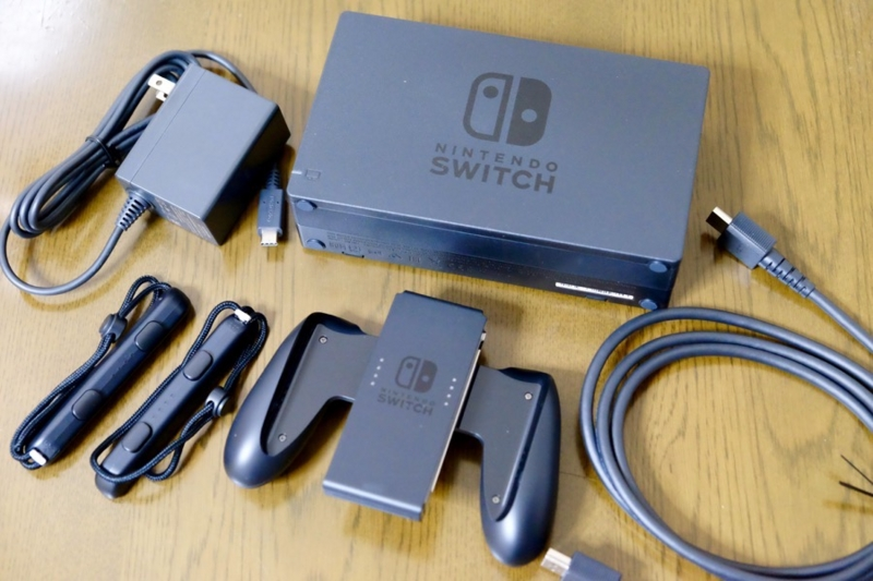 Nintendo Switch 同梱品