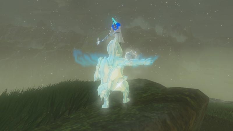 ゼルダの伝説 ブレスオブザワイルド 凍結