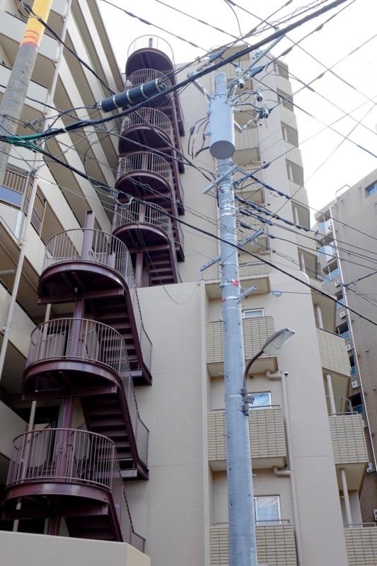 大塚 住宅街 階段