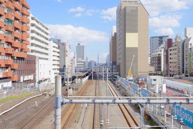 大塚駅 線路