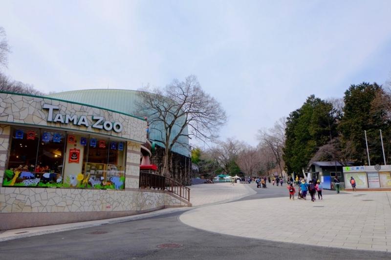 多摩動物公園 園内1