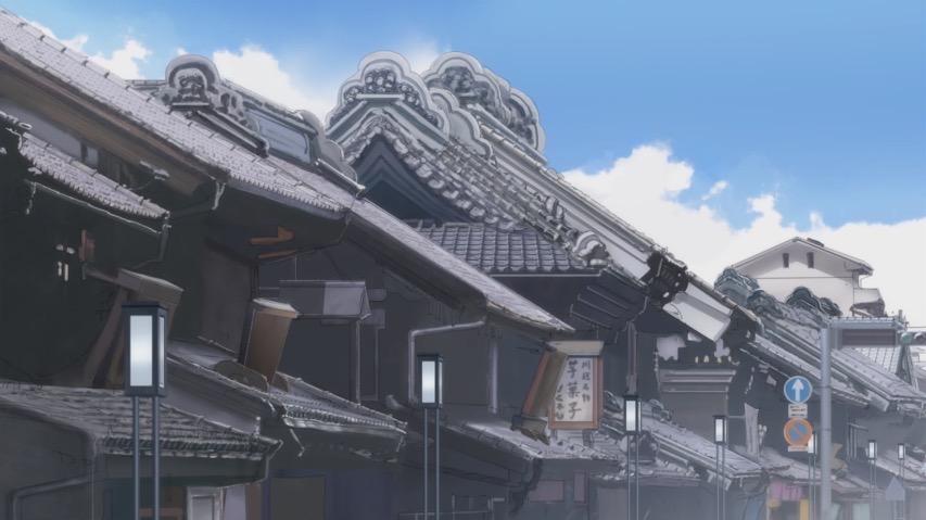 月がきれい アニメ 聖地巡礼 川越 蔵造りの町並3