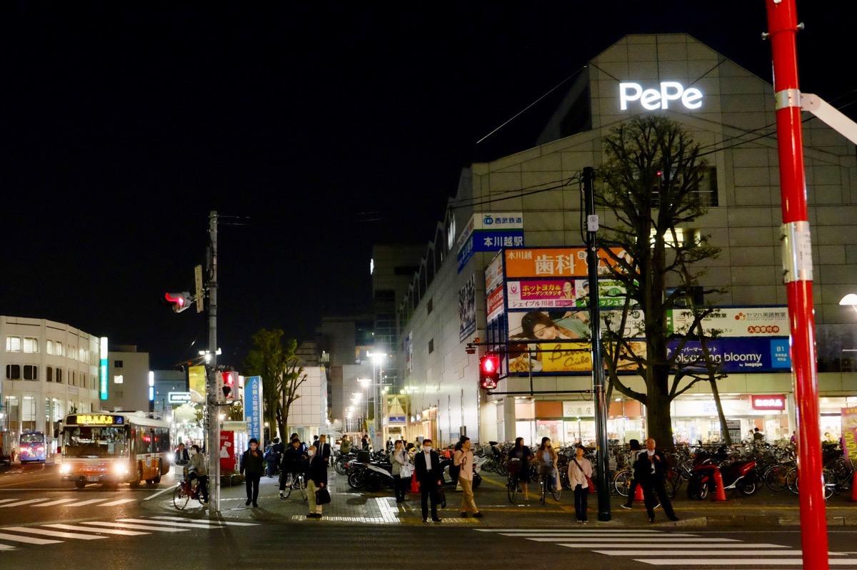月がきれい アニメ 聖地巡礼 川越 本川越駅2