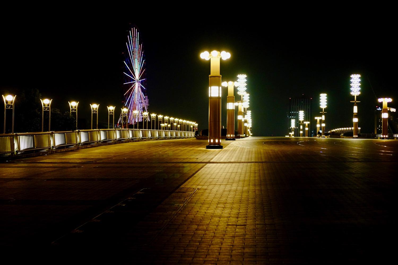夜の夢の大橋1