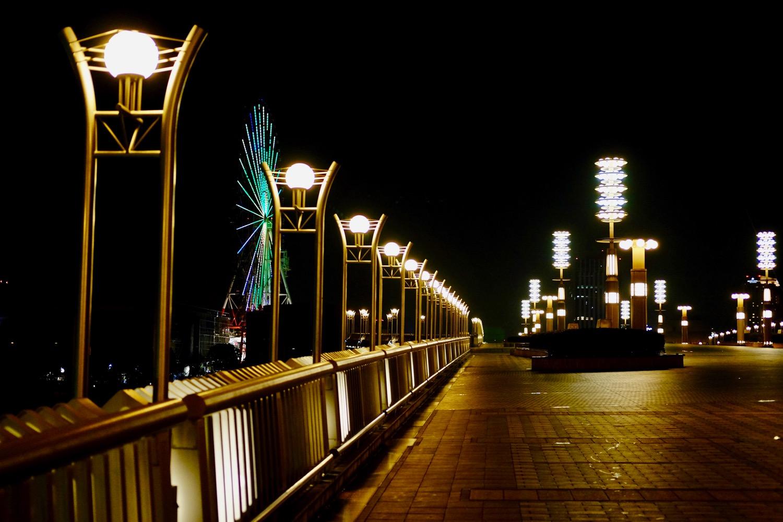 夜の夢の大橋2