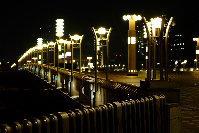 夜の夢の大橋4