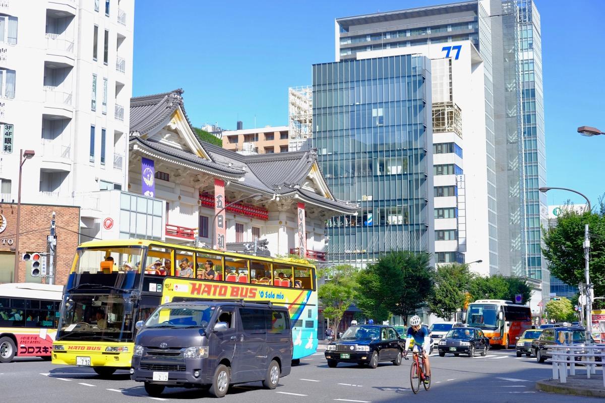 東銀座駅前