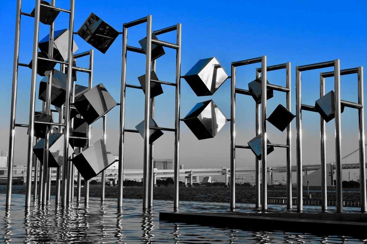 晴海埠頭のモニュメント