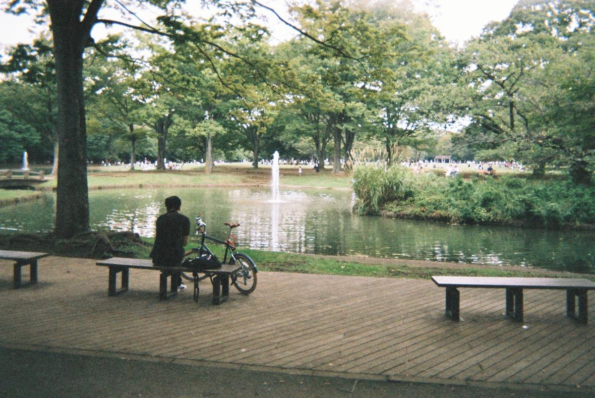代々木公園(写ルンですで撮影)