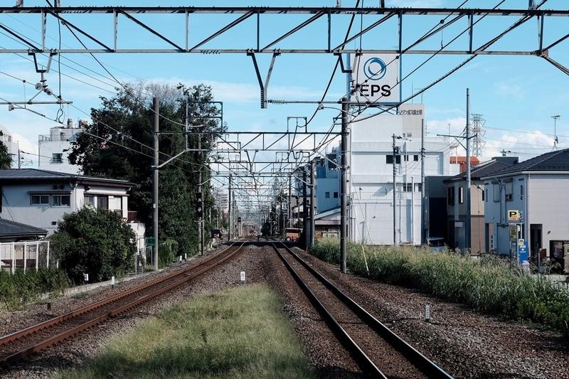 東武東上線の線路