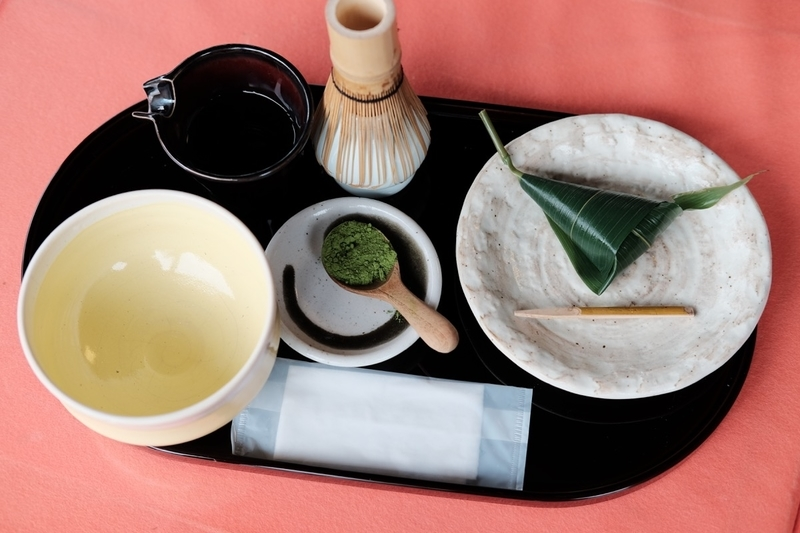 二条城・和楽庵のお抹茶セット
