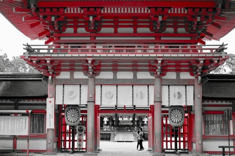 下鴨神社・門