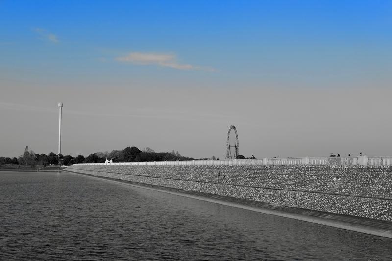 冬の多摩湖2