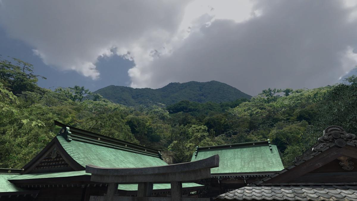 VRChat・神社