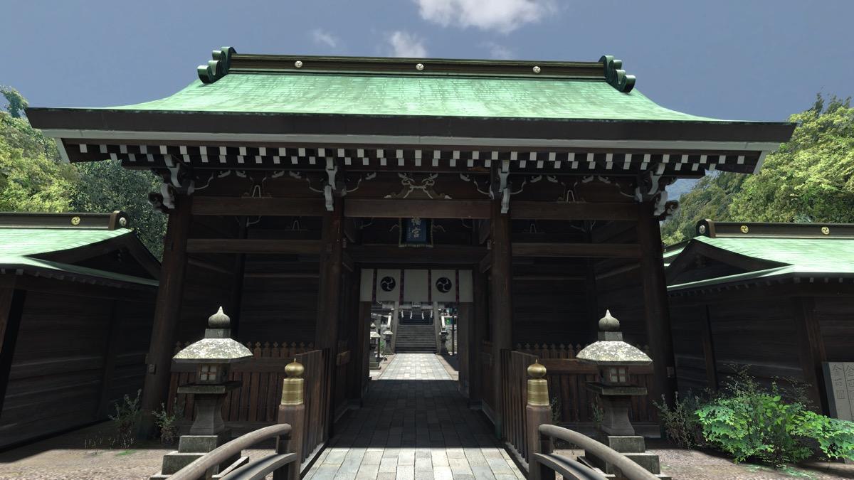 VRChatのワールド「Japan Shrine」
