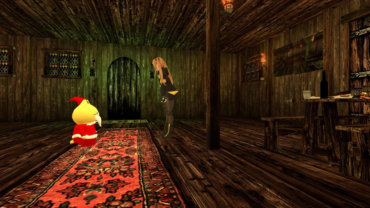 VRChatのワールド「Fantasy Shukai jou」