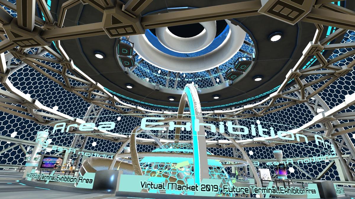 バーチャルマーケット2・FutureTerminal1