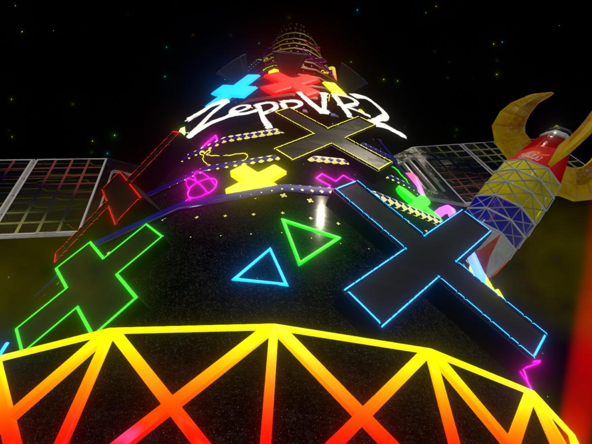 『輝夜 月LIVE@ZeppVR 2』タワー