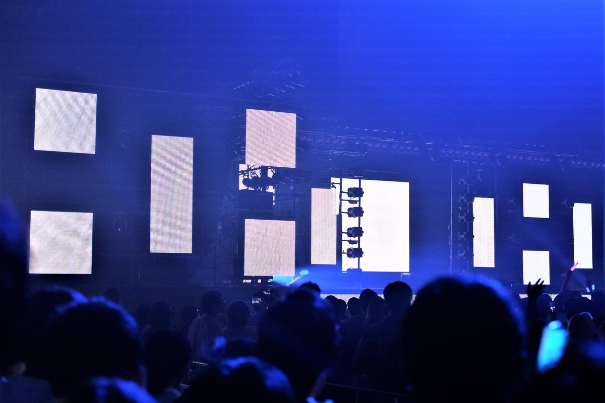 FAVRIC・会場内のディスプレイモニター4