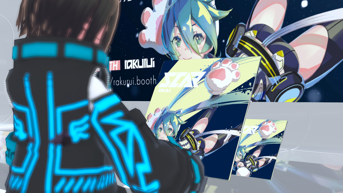 『Virtual to Vocaloid』会場内風景3