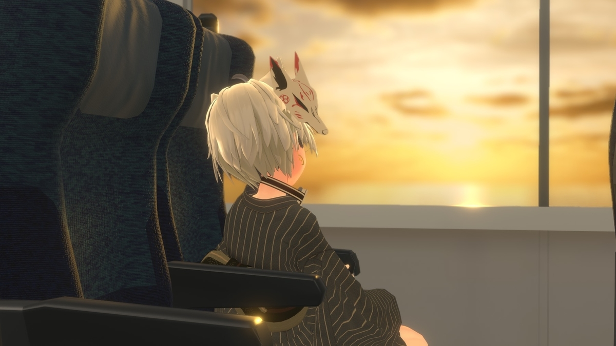 VRChat「黄昏れ特急 -Big Sunset Express-」2