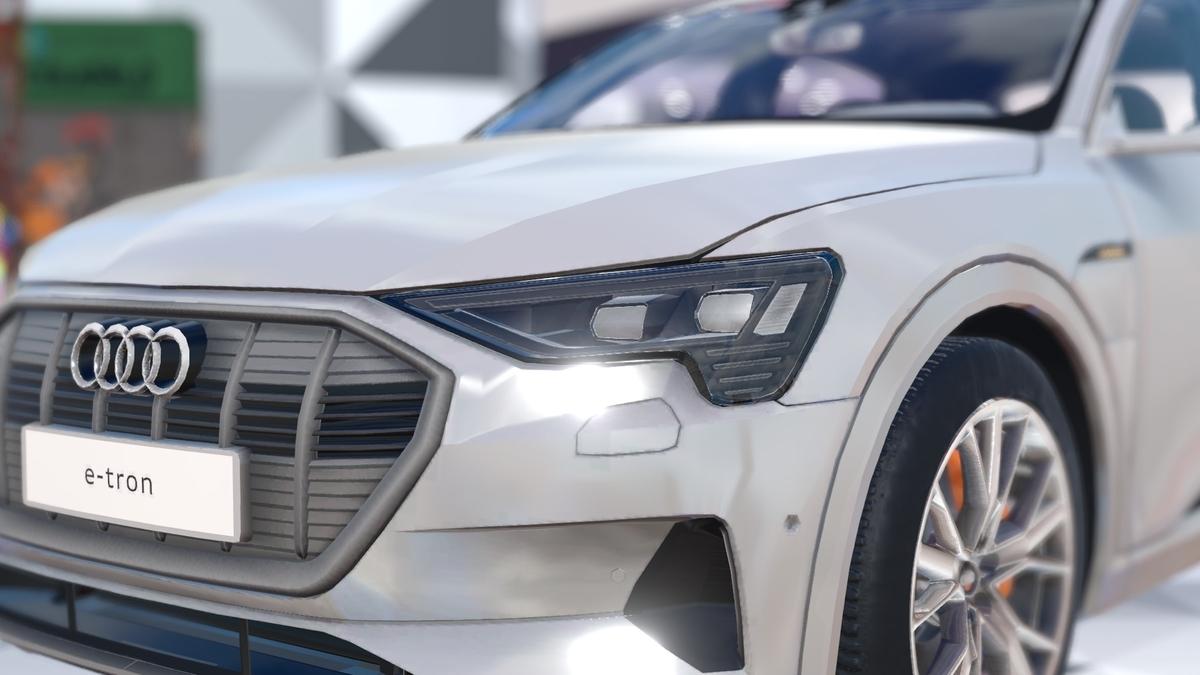 バーチャルマーケット4「Audi」ブース