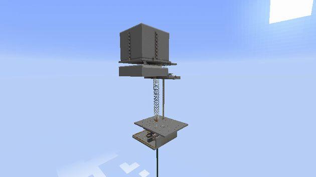 水流式天空トラップタワー完成図