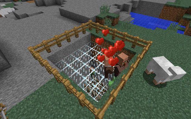 村人増殖の様子