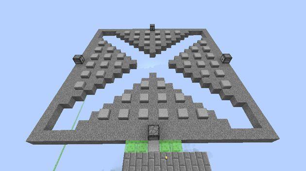 水流式天空トラップタワー湧き層の作り方