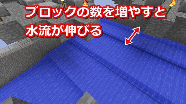 水流式天空トラップタワー水流の作り方