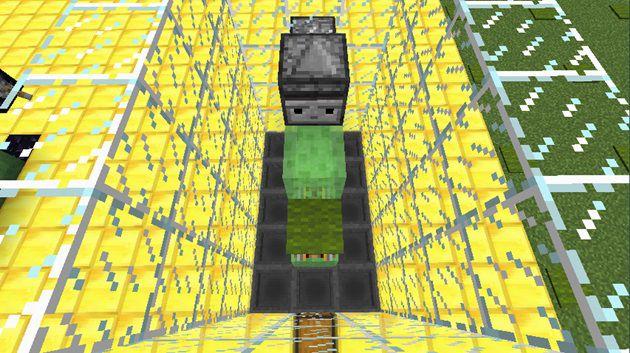 上から見たカーペット回収システム