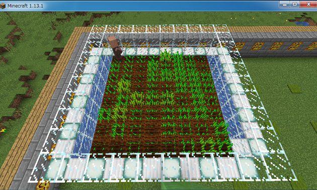 村人式小麦収穫機完成