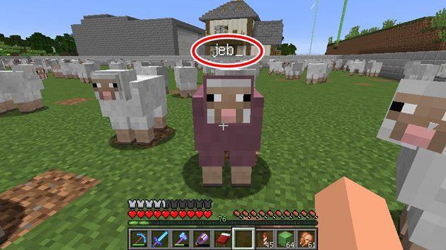 羊を虹色にする方法