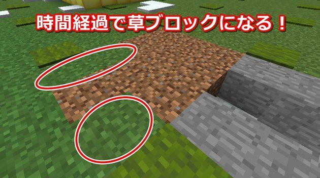 草ブロックの作り方