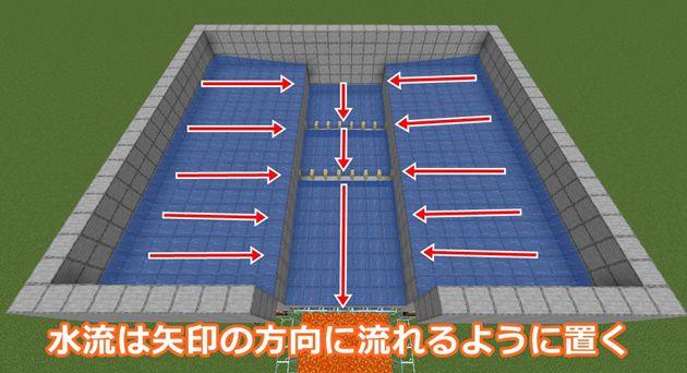 湧き層&屋根の作り方14