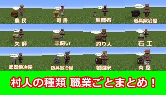 村人の種類