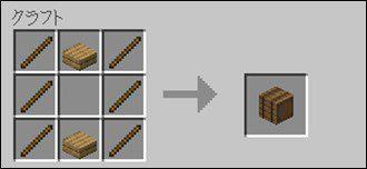 統合版での樽の作り方