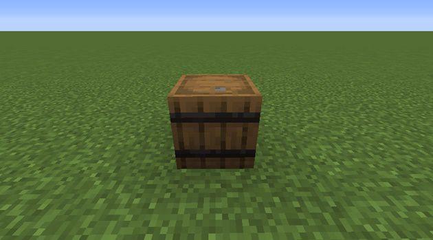 樽を上向きに置く場合