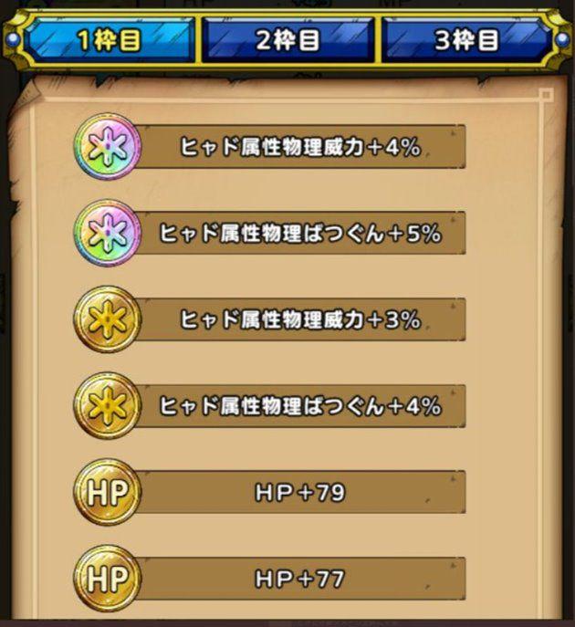 オチュアーノの剣の錬金効果